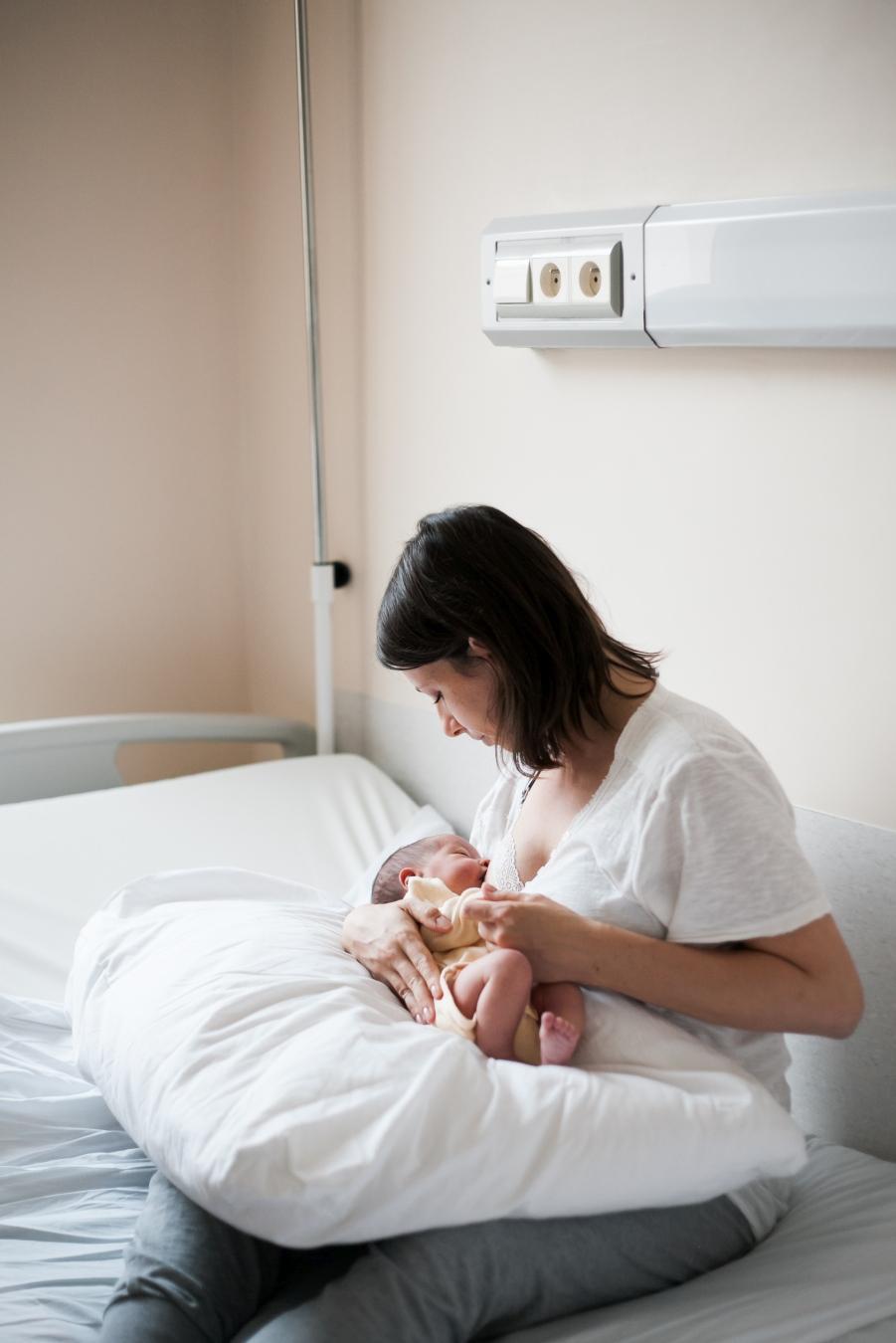 niemowlę fotograf szpital warszawa