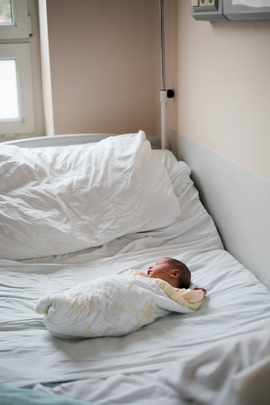 sesja niemowlęca w szpitalu
