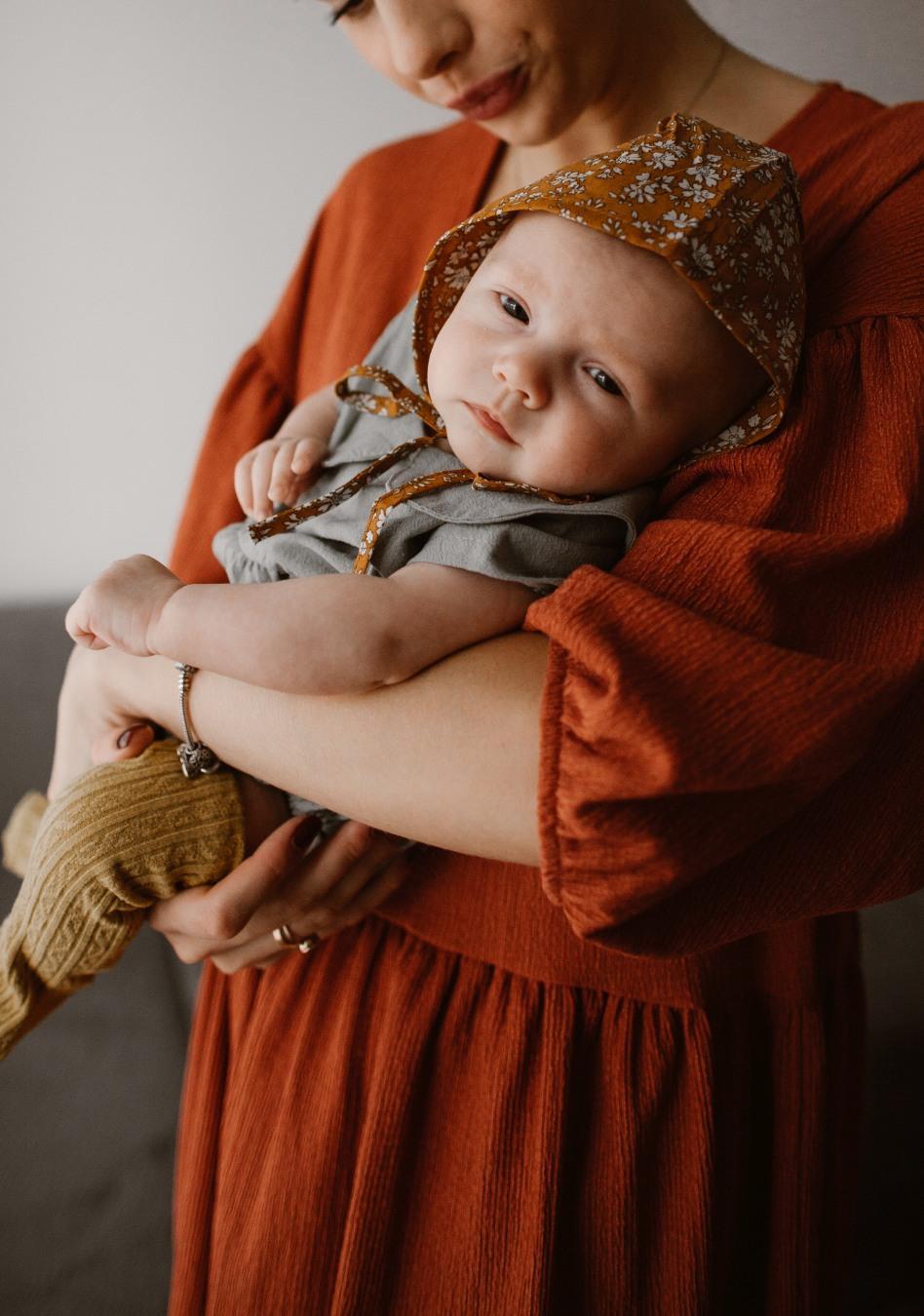 niemowlak sesja zdjęciowa