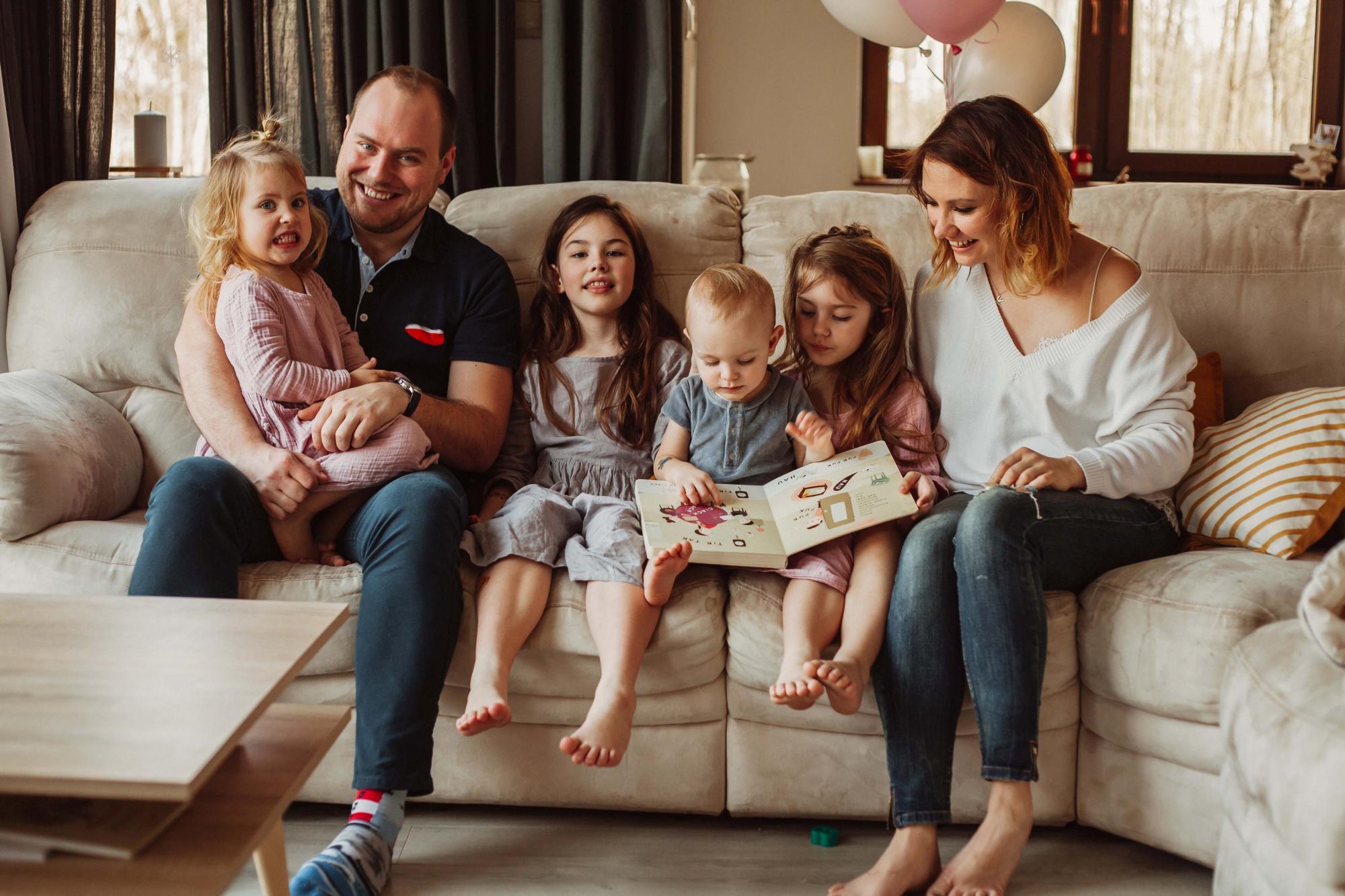 Sesja lifestyle rodzinna